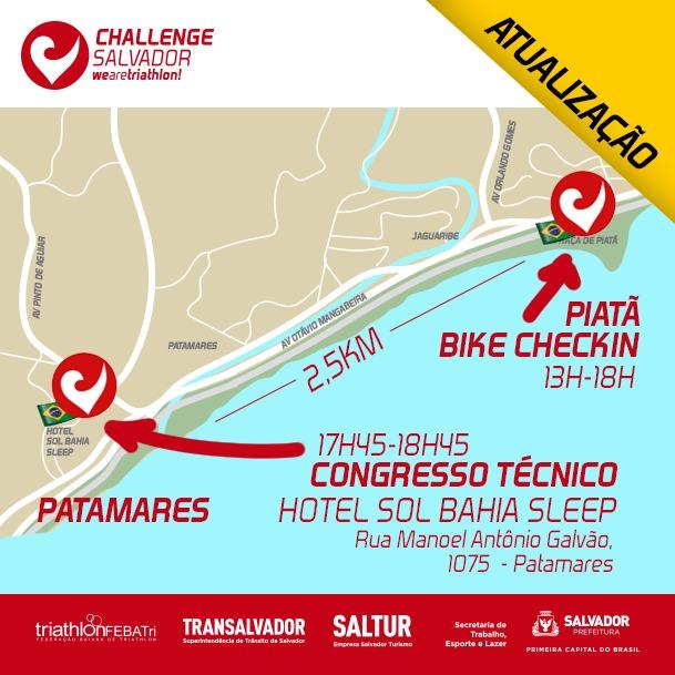 Últimas Notícias do Challenge Salvador 2018
